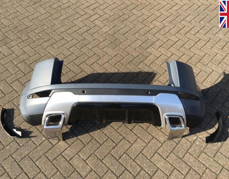 hawke dynamic evoque rear bumper upgrade
